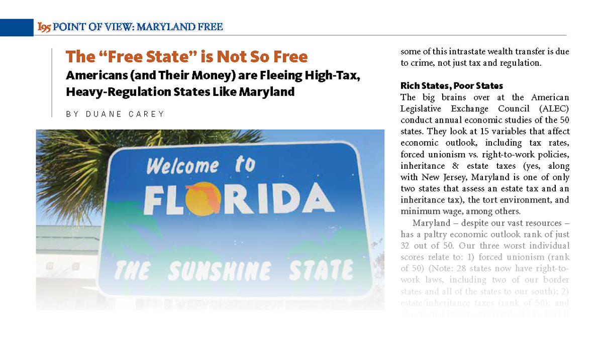 """The """"Free State"""" is Not So Free"""