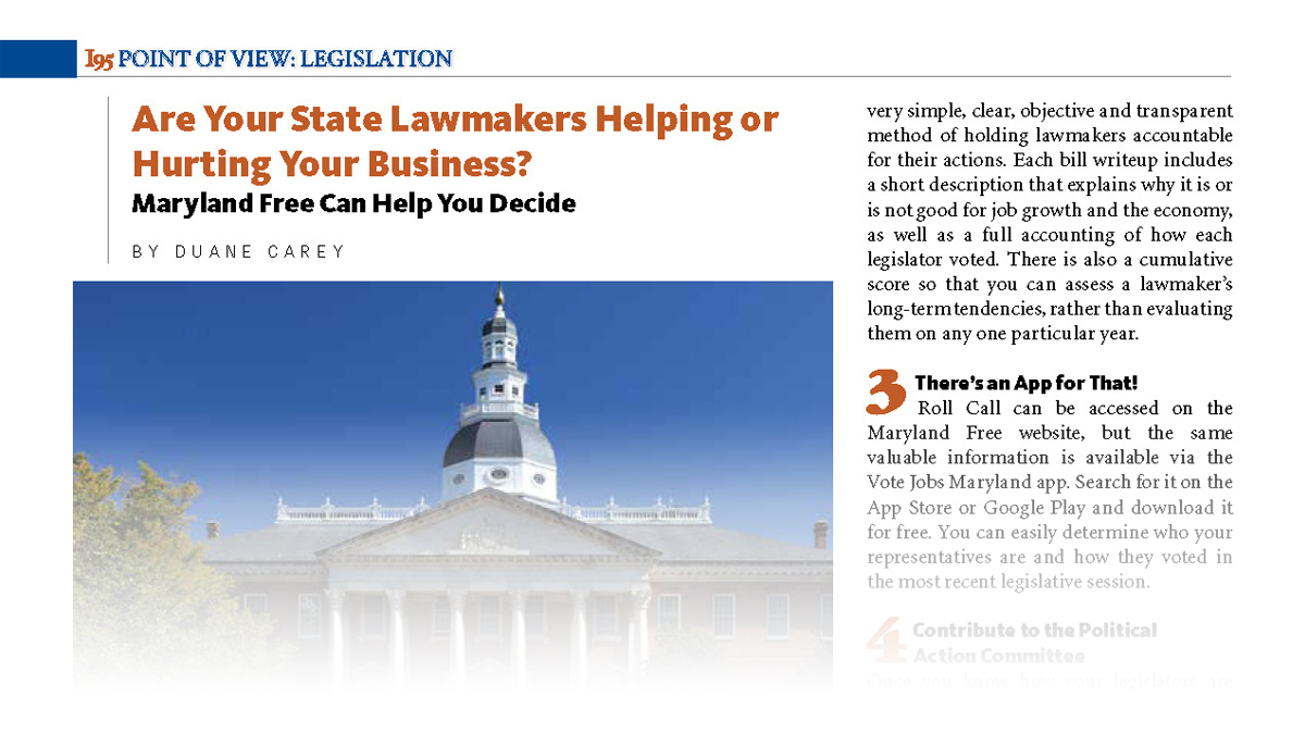 Are Your State Lawmakers Helping Or Hurting Your Business?
